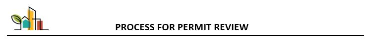 Process for Permit Review
