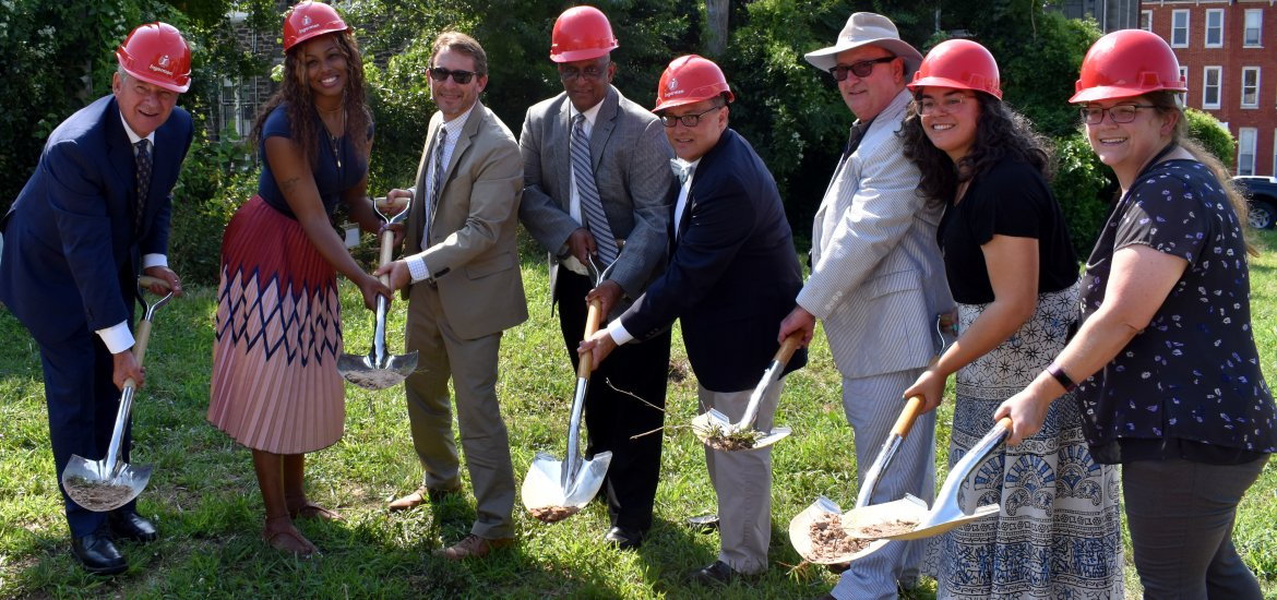Greenmount & Chase Groundbreaking